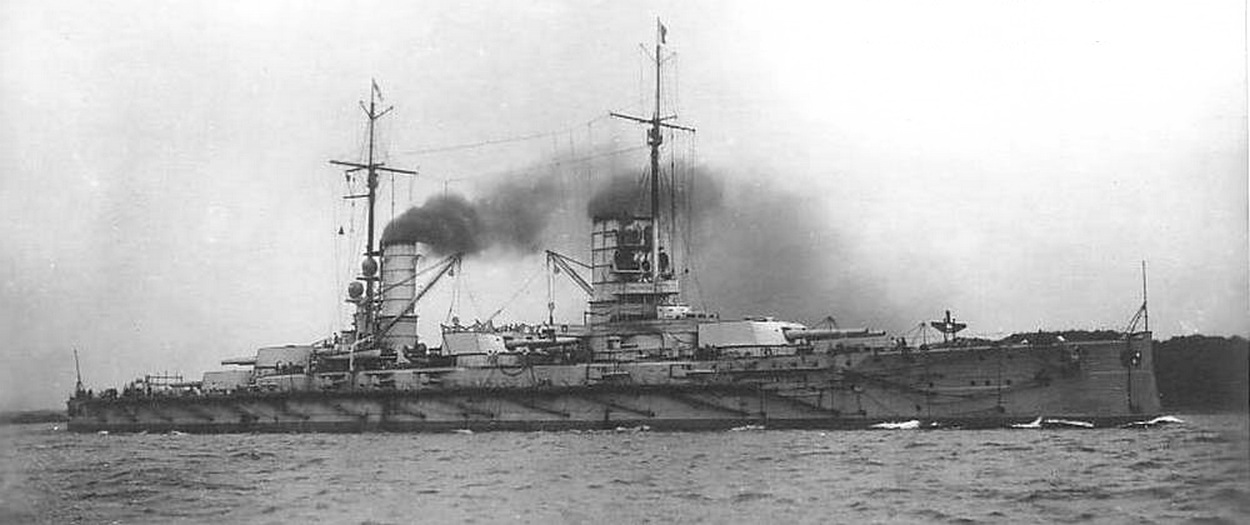 A német Kaiserin csatahajó.