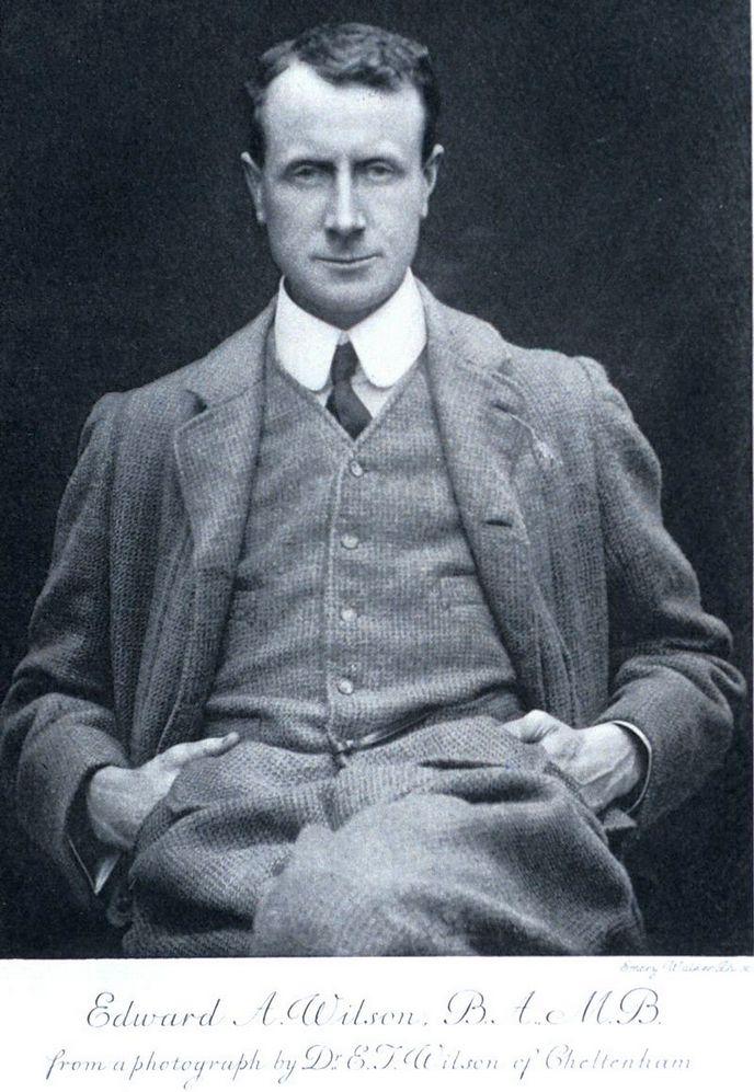 És egy másik finom angol úr. Edward Adrian Wilson, Scott legközelebbi barátja.