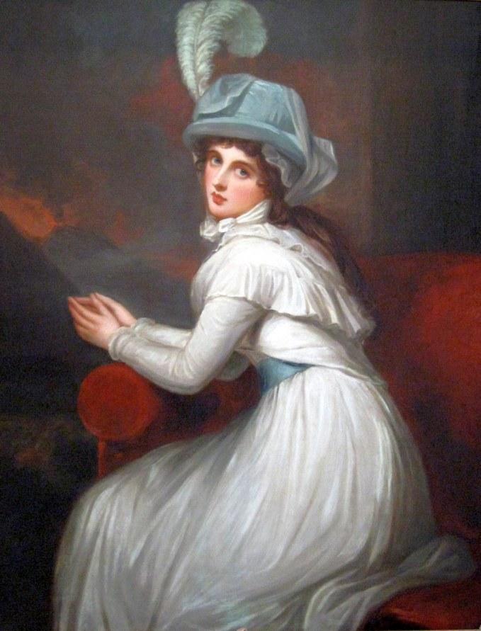 Az ábrándos tekintet megtévesztő. Valójában nagy intrikus, és profi kurtizán. Lady Emma Hamilton, eredeti nevén Amy Lyon. (1765-1815)