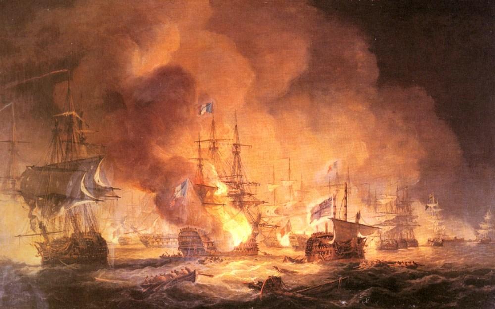 Az aboukiri csata.