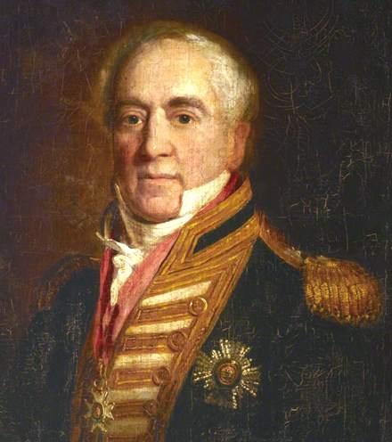 Sir Manley Dixon. (1760-1837)