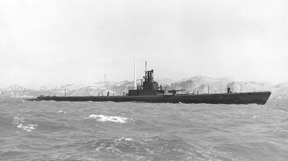 A Gato osztály egyik leghíresebb hajója, a Wahoo.
