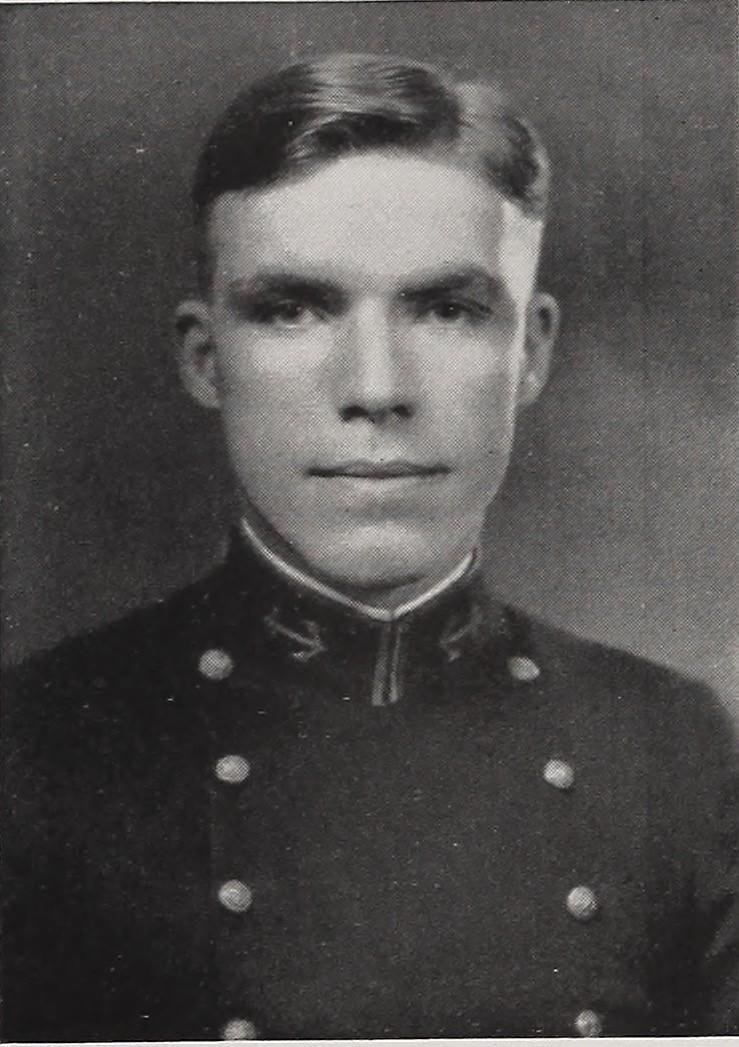 Dudley Walker Morton, itt még ifjú tengerészkadétként.