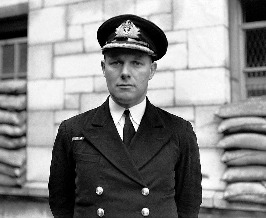 Az angolok saját hőse, Cecil Miers.