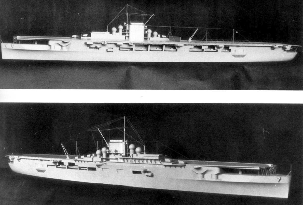 A Graf Zeppelin gyári modellje.