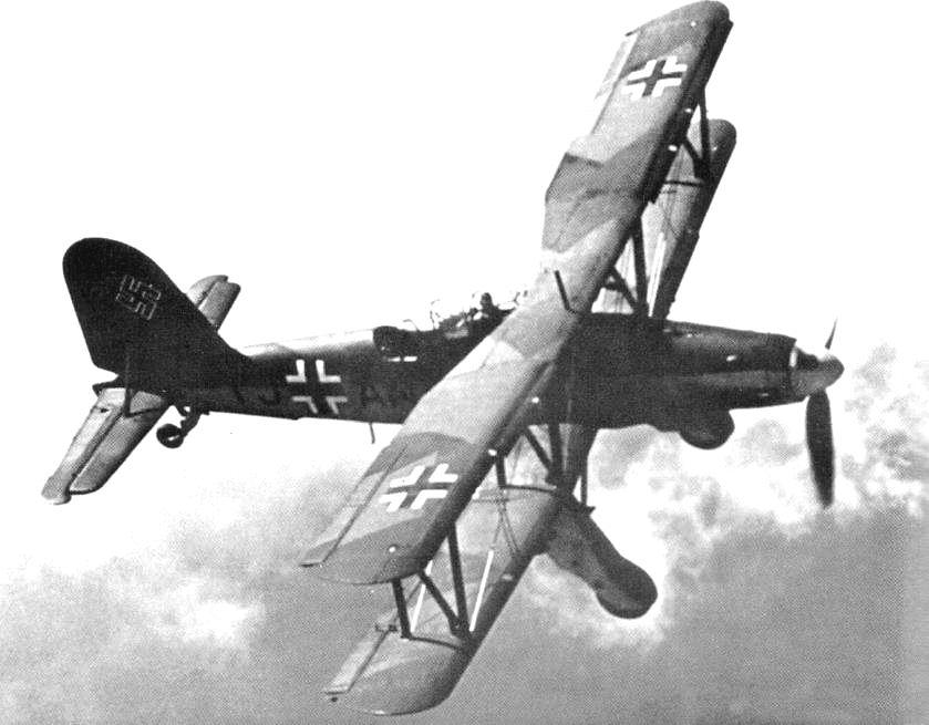 A Fieseler Fi-167.