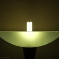 grönt ljus i vardagsrummet