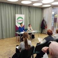 Mindenki számít! vitaest Szabó Tímeával a Párbeszéd társelnökével