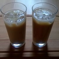 Tízórai #jegeskave #huginak #kokusztejes és #nekem #koffeinmentes #laktozmentes #tejes ☕☀
