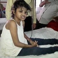 Nem a majmok nevelték fel a megtalált indiai kislányt