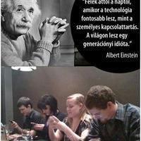 Albert Einstein látta a jövőt?