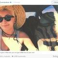 Egyesek a halott Micheal Jackson-t látják a lánya által készített selfien