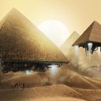 Piramis a Föld felé közeledő aszteroidán?