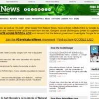 Korai volt az öröm: nem a tartalma miatt tüntette el a Google a Natural News-t