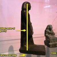 A forgó egyiptomi szobor rejtélye