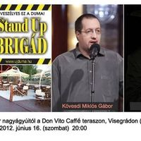 Stand Up humoristák júniusban