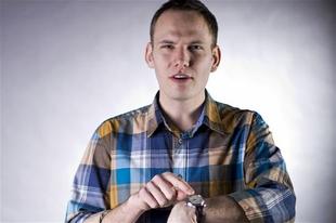 Bödőcs Tibor szilveszterkor a Comedy Centrálon