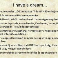 Dream, dream, dream...