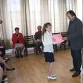 A legkisebb bajnokok polgármesteri köszöntése