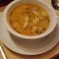 Csirkebecsinált (ragu) leves