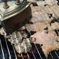 Vasalt csirkemellek grillen, szójaszószos pácban, újkrumpli karikákkal
