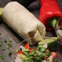 Chilis, csokis mexikói burrito