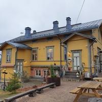 Családi ebéd, Old Courtyard, Alvar Aalto múzeum és az egyetem - Jyväskylä