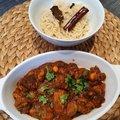 Sertéshúsos és csicseriborsós curry