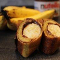 Chimichanga ( banános, nutellás )