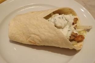 Tortilla csirkehússal - 10 perc alatt