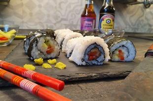 Sushi készítése