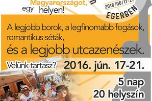 Utcazenészek versenye Egerben - 2016.06.17-21