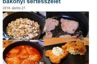 Húsimádó-blog ajánlja: bakonyi sertésszelet