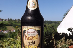 Hámori keserű csoki sör - Gyertyános serfőzde