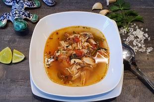 Sopa de Lima - avagy egy tartalmas és izgalmas mexikói leves