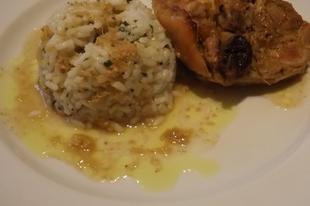 Gyömbéres, kurkumás, joghurtos pácolt, sült csirkecombok