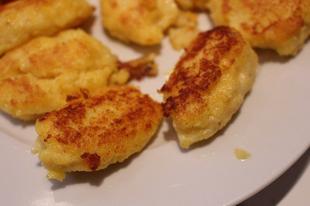 Pirított polenta párnácskák