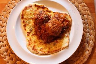 Csirke kofta curry