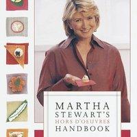 Könyvajánló: Martha Stewart Hors D'Oeuvres kézikönyve
