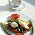 Spárgás-tojásos reggeli - ha csak tíz perced van