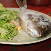 Friss hal a tengerből: Orata al cartoccio