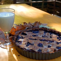 Őszi áfonyás pite