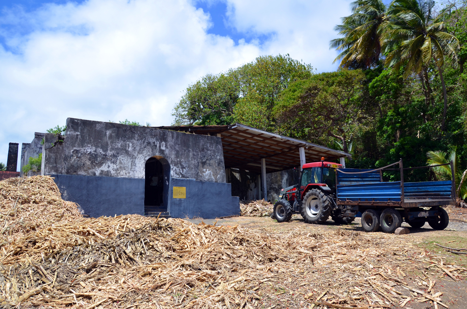 A grenadai Rivers Rum Factory