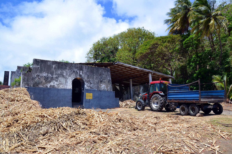 A grenadai Rivers Rum Factory