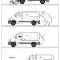 Jegesmedve szállítás