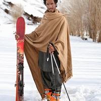 Síelés Afganisztánban