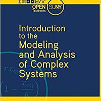 Introduction To The Modeling And Analysis Of Complex Systems Download Pdf