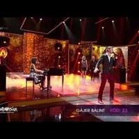 Gájer Bálint - Elmaradt pillanatok (A Dal 2014 harmadik elődöntő)