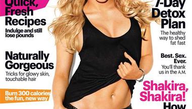 Shakira a 2013. szeptemberi Self címlapján