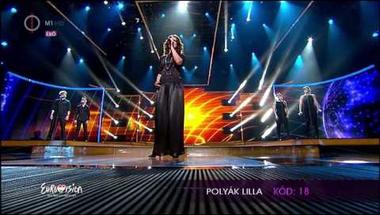 Polyák Lilla - Karcolás (A Dal 2014 második középdöntő)
